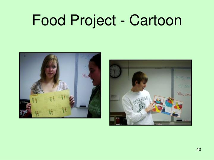 Food Project - Cartoon