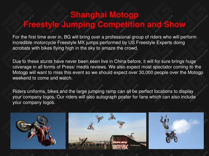 Shanghai Motogp
