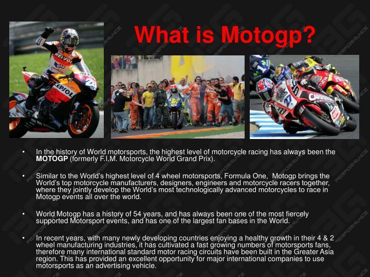 What is Motogp?