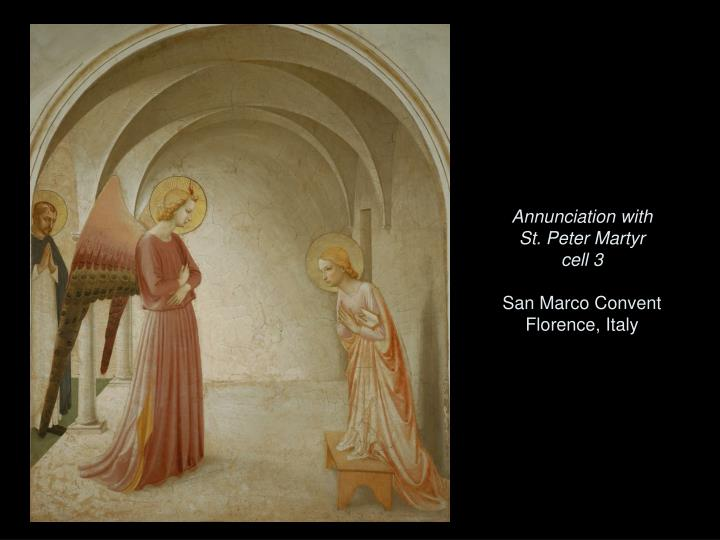 Annunciation with