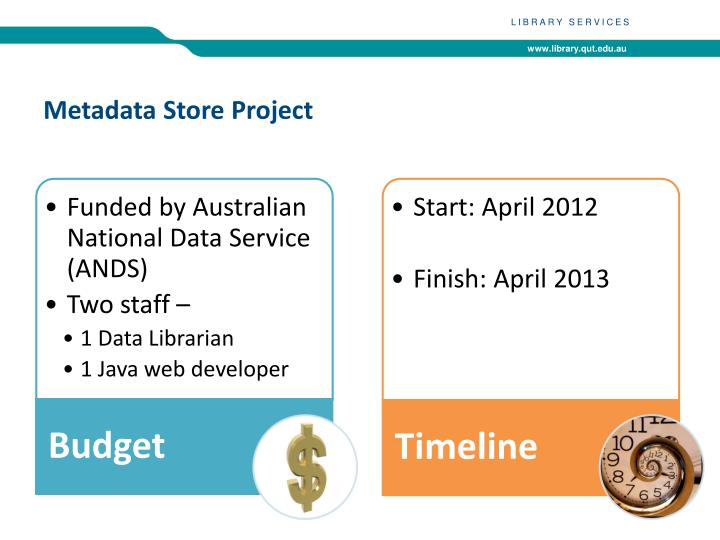 Metadata store p roject