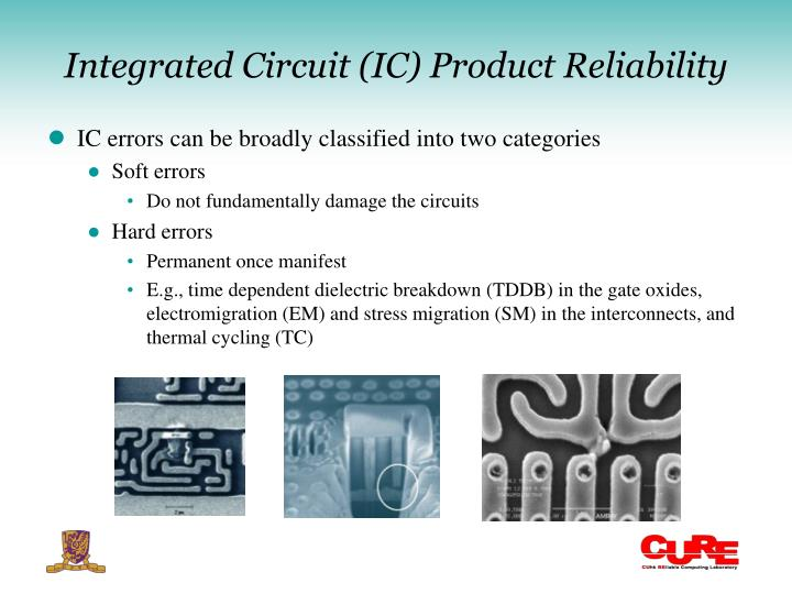 Integrated Circuit (IC) Product Reliability