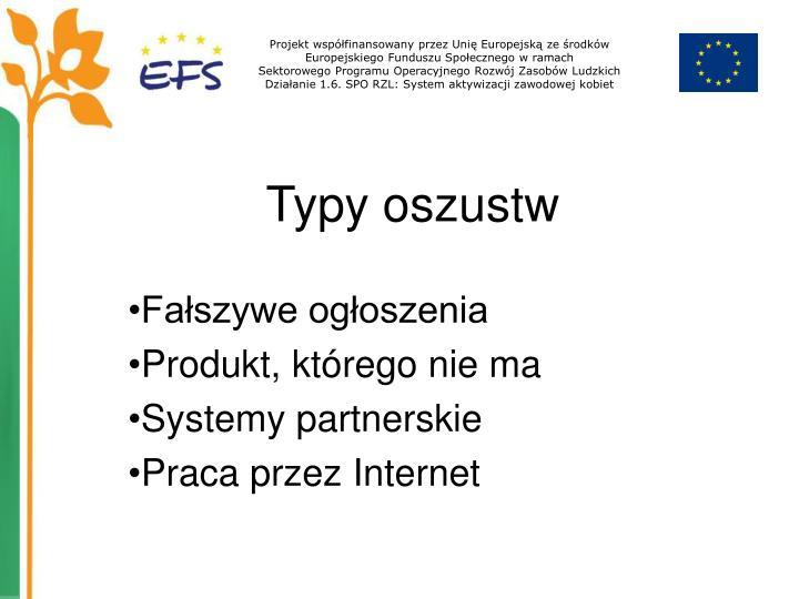 Projekt współfinansowany przez Unię Europejską ze środków