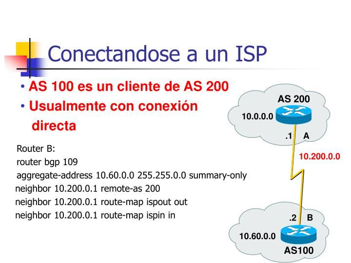 Conectandose a un ISP