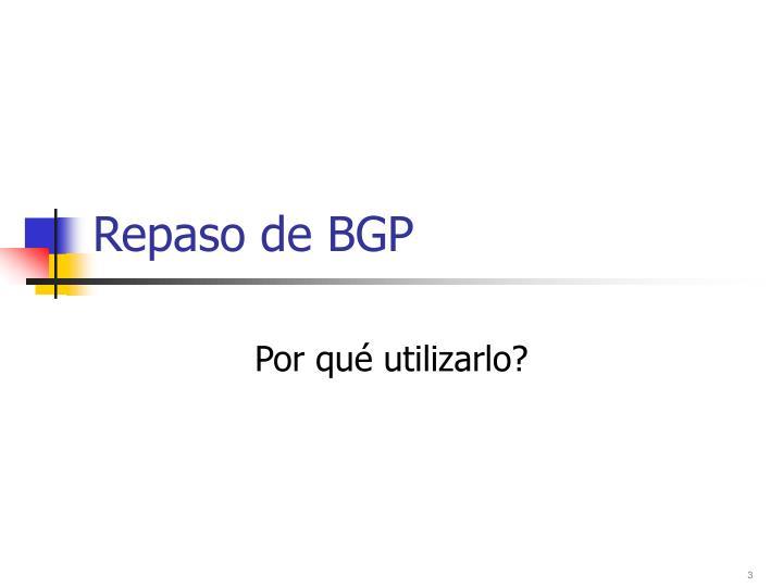 Repaso de BGP