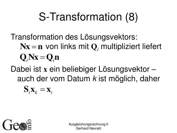 S-Transformation (8)
