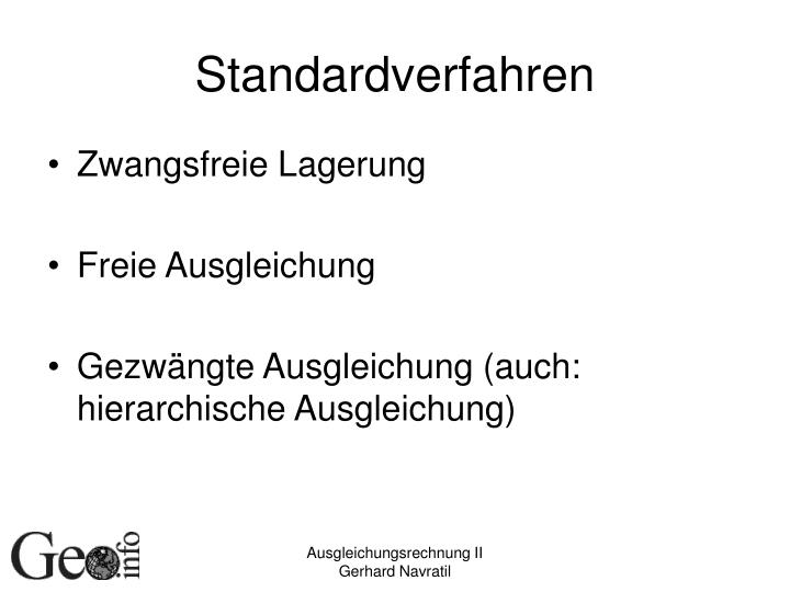 Standardverfahren