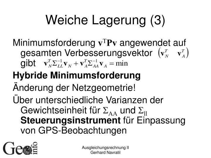 Weiche Lagerung (3)