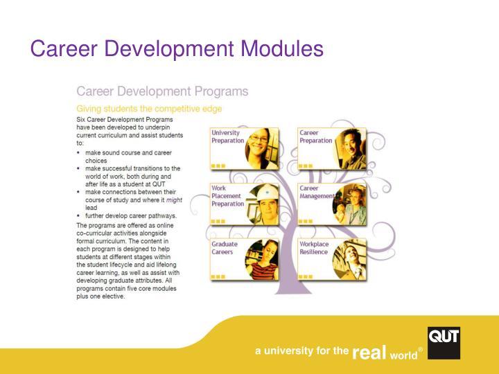 Career Development Modules