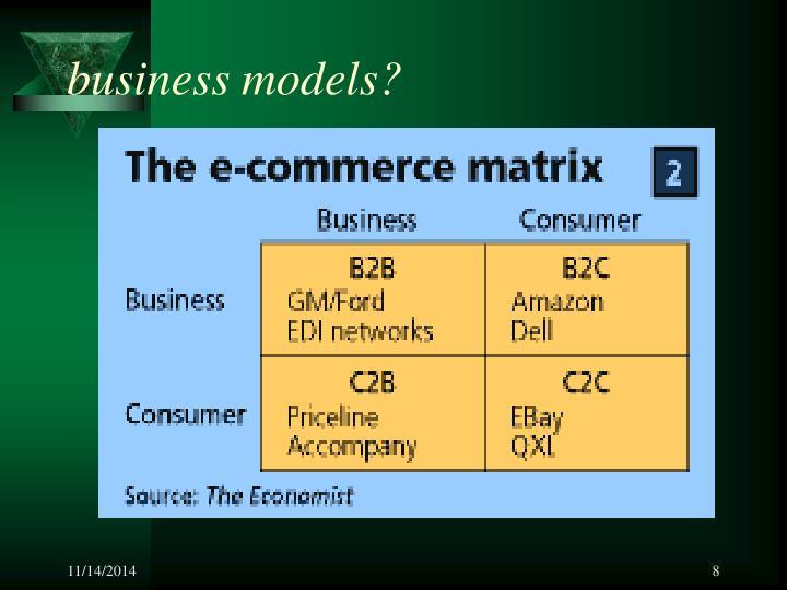 business models?