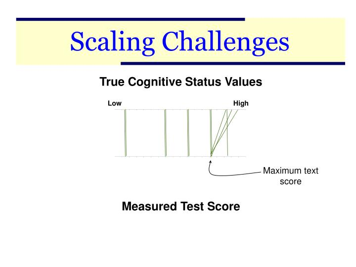 Scaling Challenges
