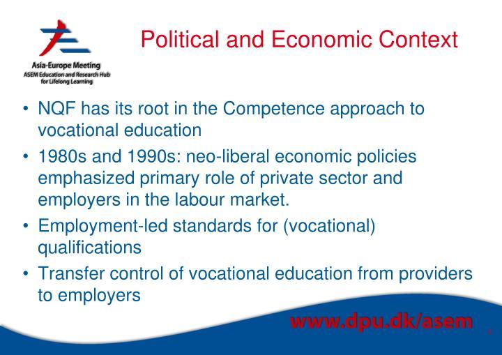 Political and Economic Context
