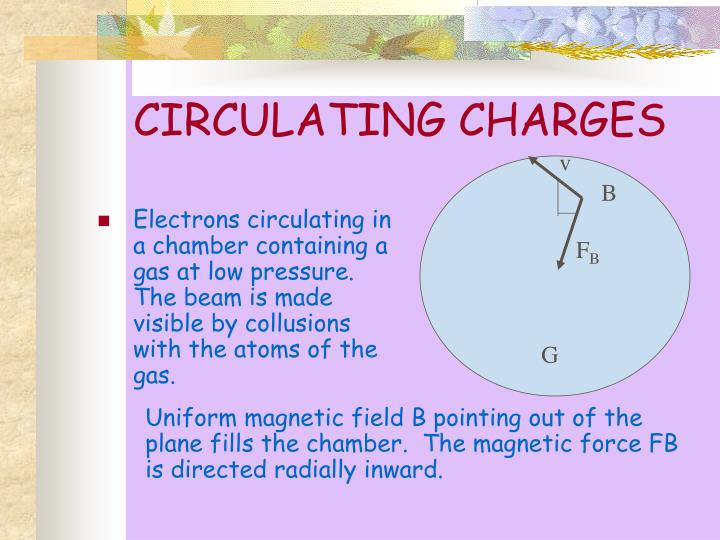 CIRCULATING CHARGES