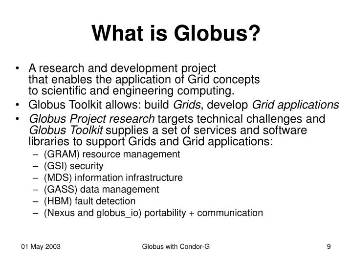 What is Globus?