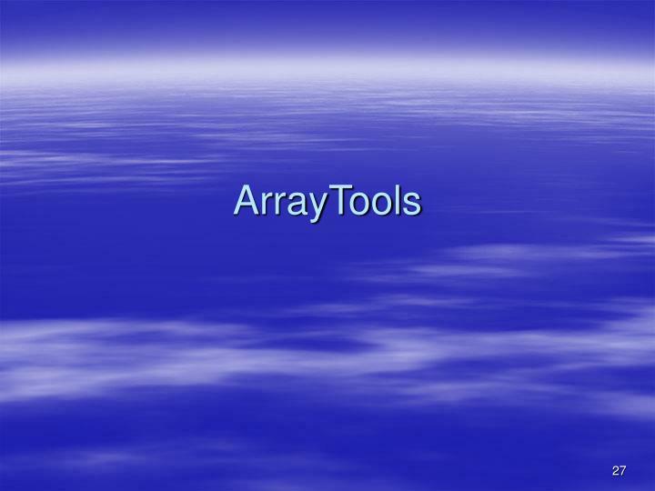 ArrayTools