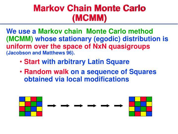 Markov Chain Monte Carlo (MCMM)