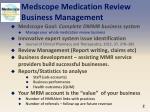 medscope medication review business management