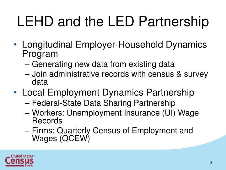 LEHD and the LED Partnership