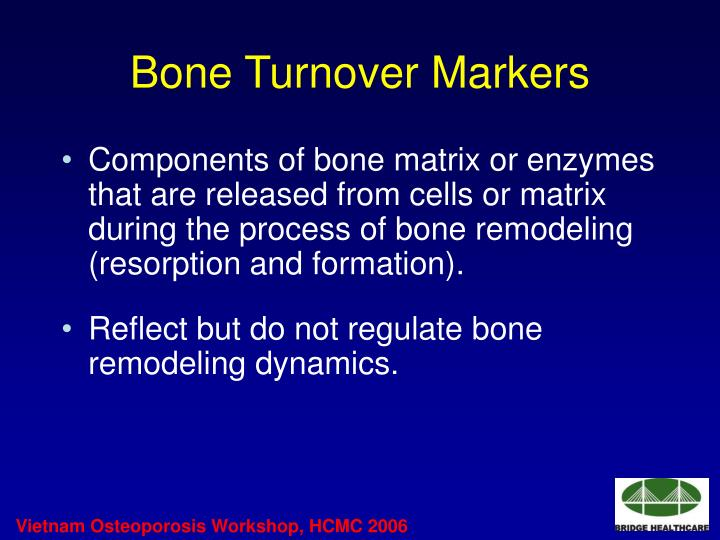 Bone Turnover Markers