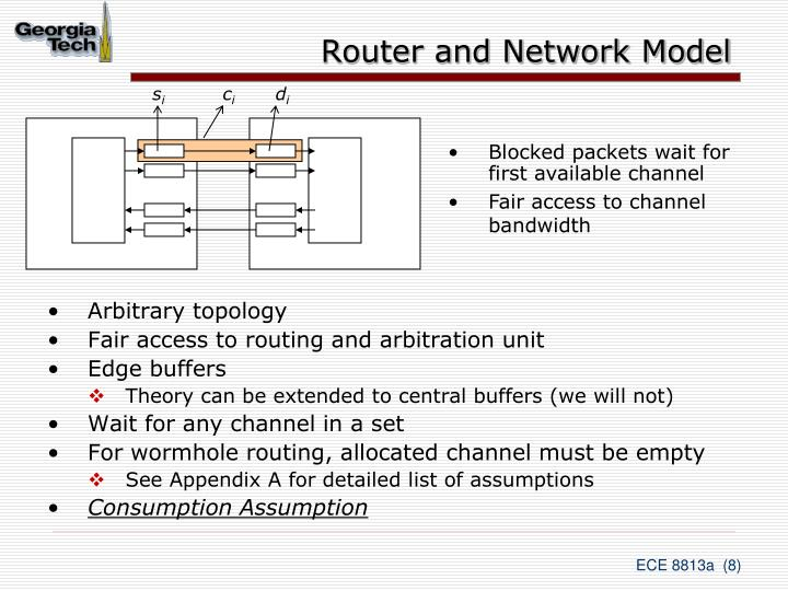 Router and Network Model