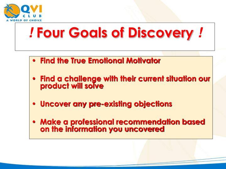Find the True Emotional Motivator