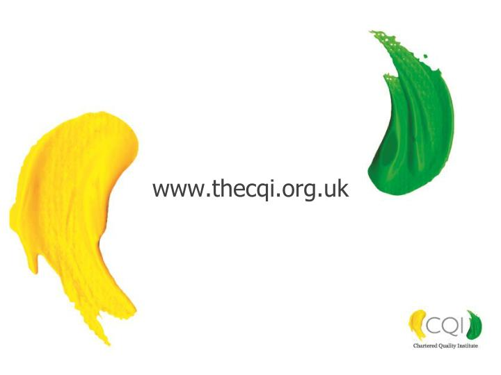 www.thecqi.org.uk