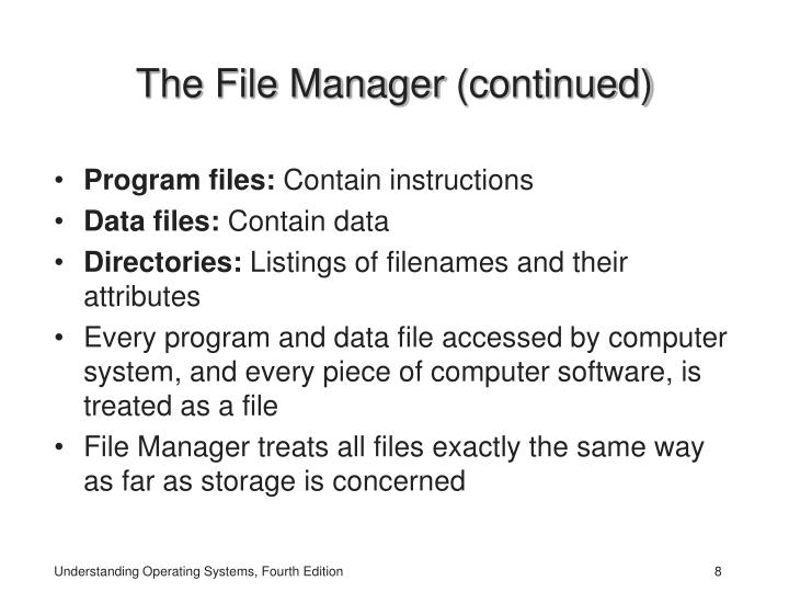 The File Manager