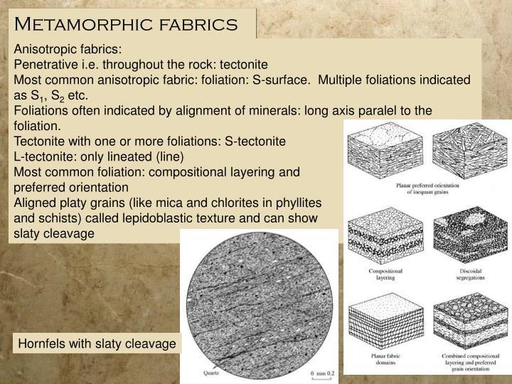 Metamorphic fabrics