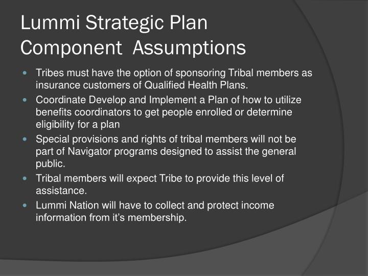 Lummi Strategic Plan