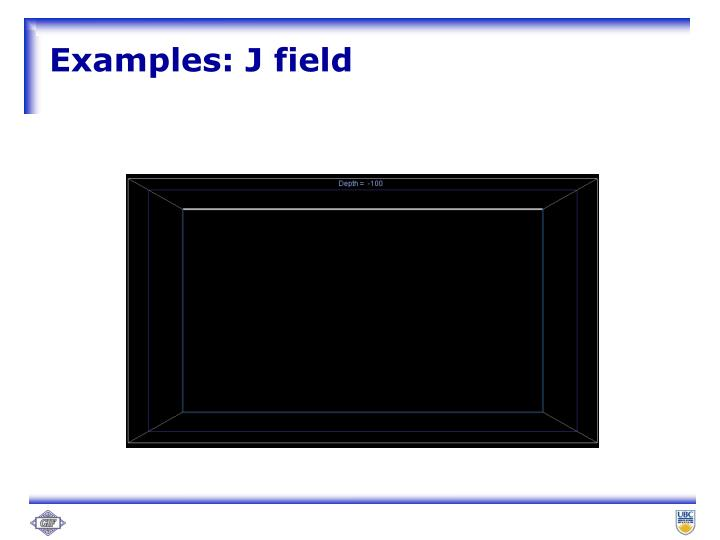 Examples: J field