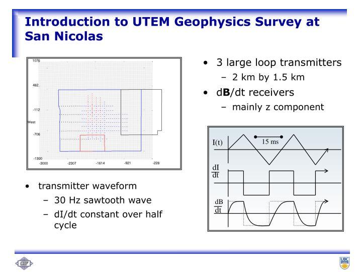 3 large loop transmitters