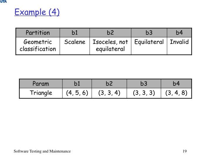 Example (4)