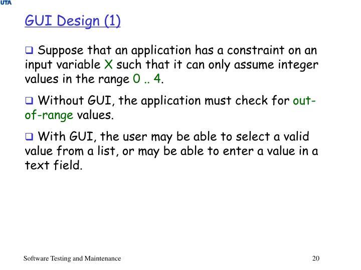 GUI Design (1)