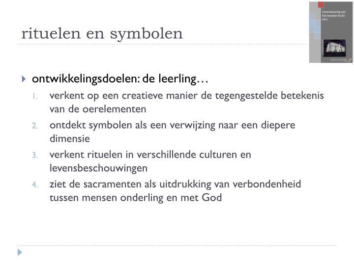rituelen en symbolen