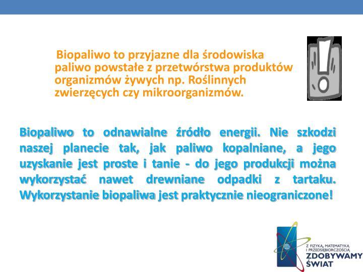 Biopaliwo