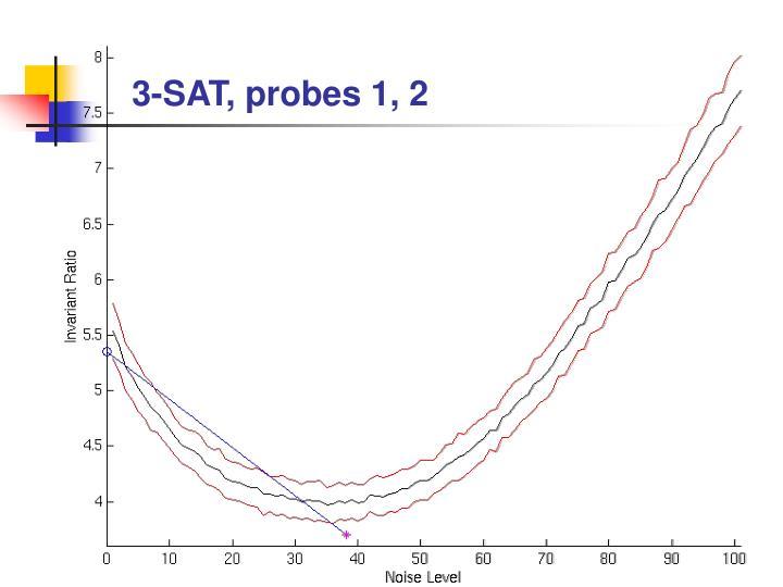 3-SAT, probes 1, 2