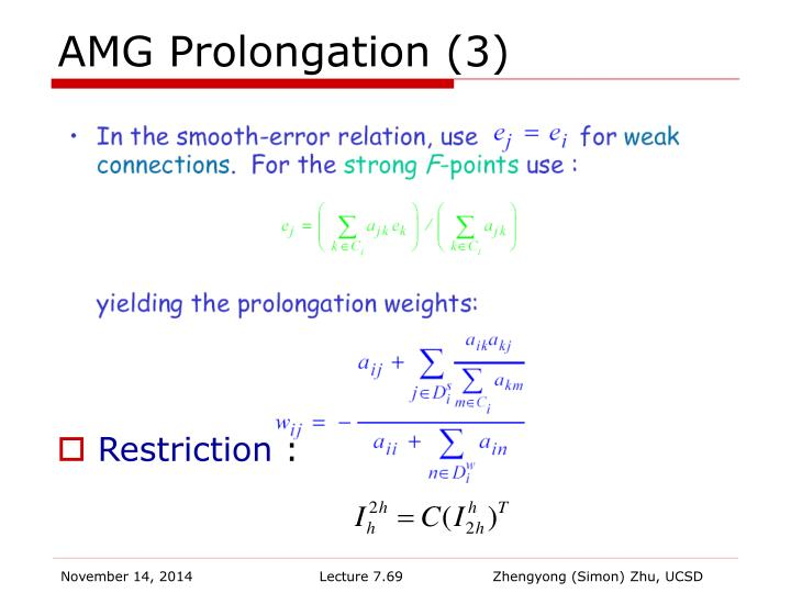 AMG Prolongation (3)