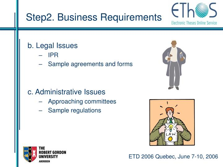 Step2. Business Requirements