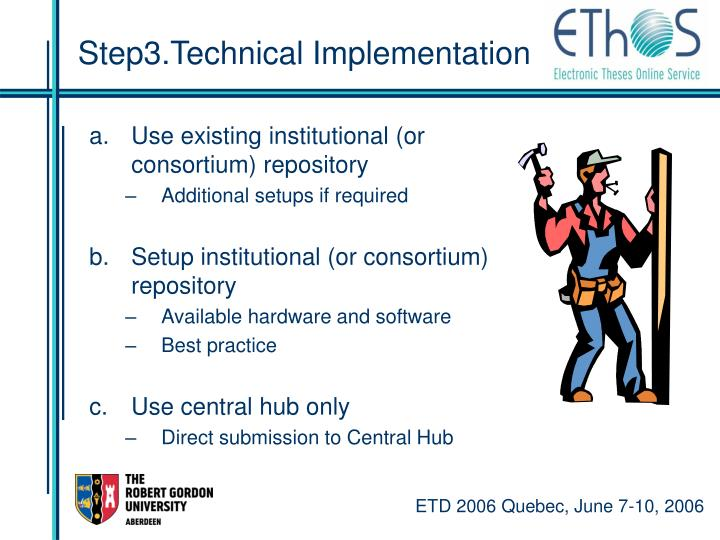 Step3.Technical Implementation
