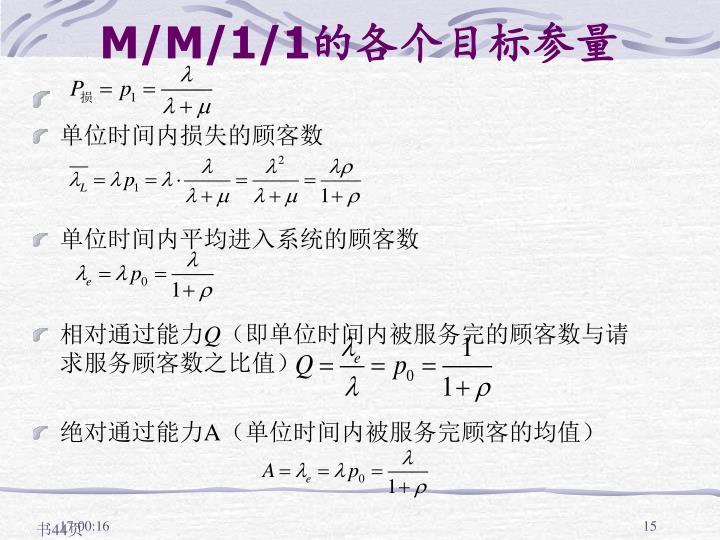 M/M/1/1