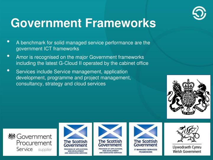 Government Frameworks