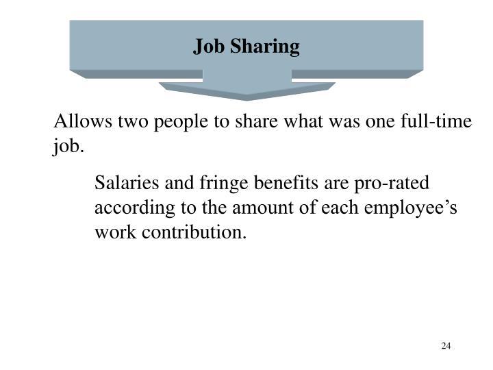 Job Sharing