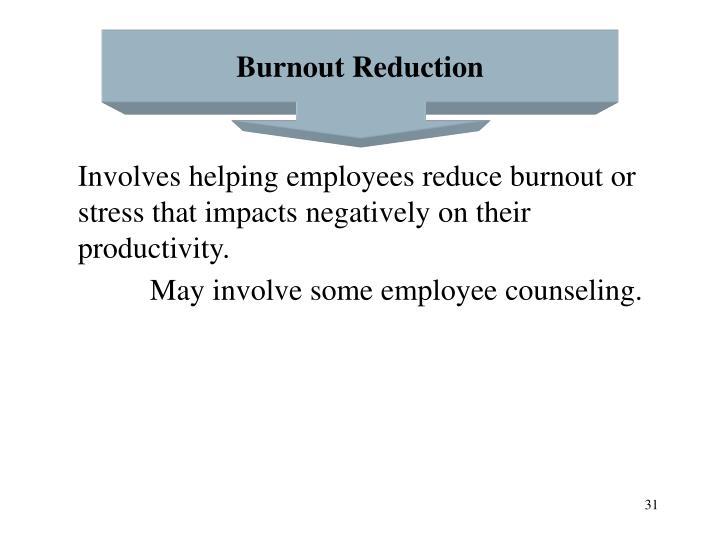 Burnout Reduction