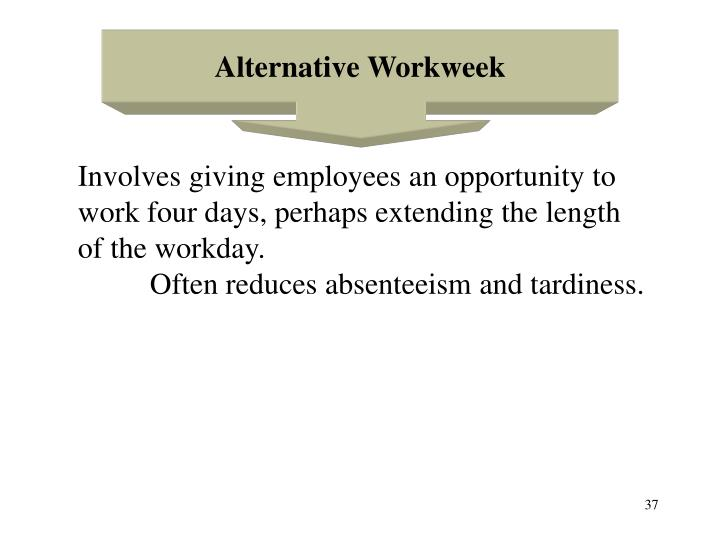 Alternative Workweek