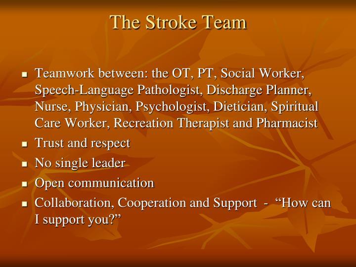 The Stroke Team