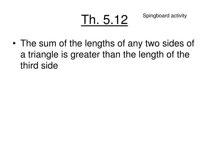 Th. 5.12