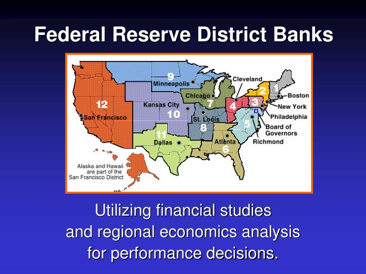 Federal Reserve District Banks