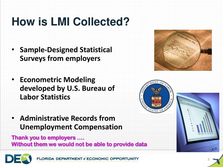How is LMI Collected?