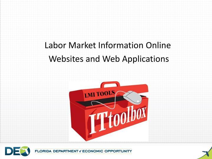 Labor Market Information Online