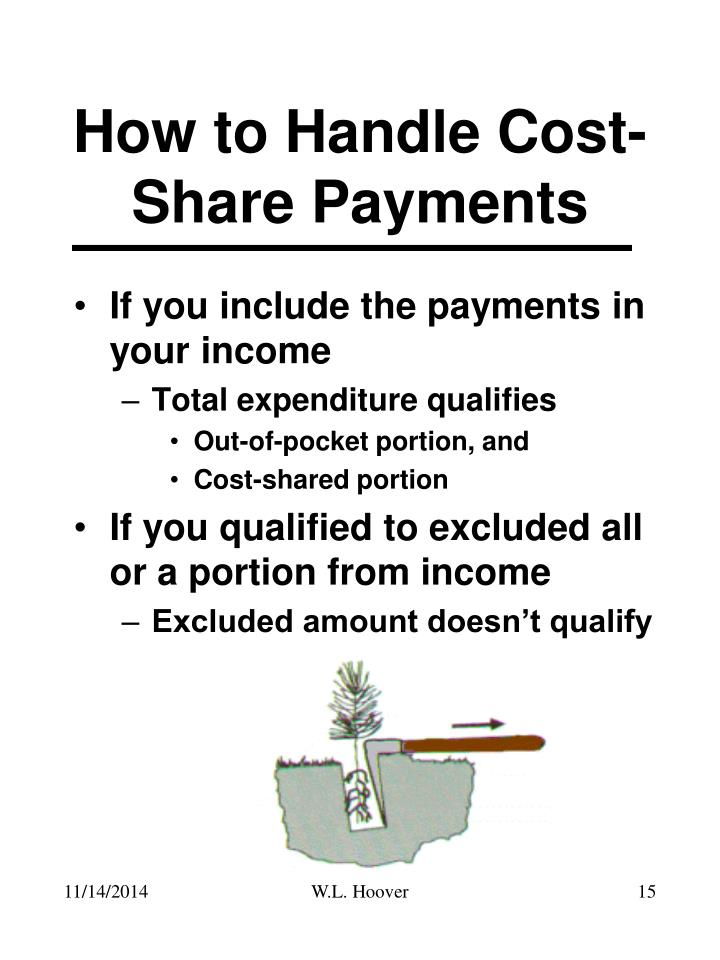 How to Handle Cost-Share Payments